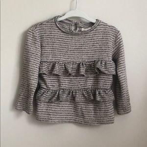 Zara Baby Girl Ruffled Sweater